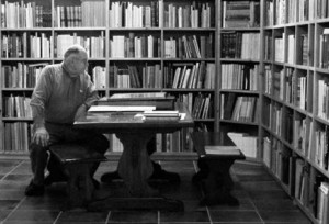 GeorgeStuart-reading-in-Library