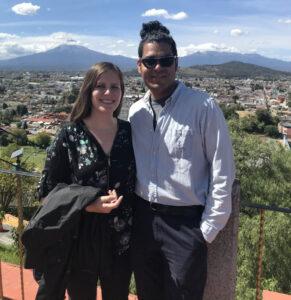 Hannah Abrahamson and Ricardo Basurto